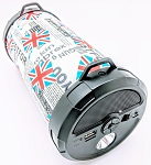 MK-2004 LARGE CYLINDER SPEAKER BRITISH FLAG
