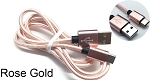 3FT ANDROID CABLE ROSE GOLD