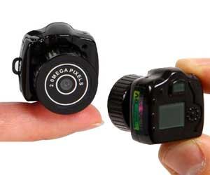 Camera smallest spy