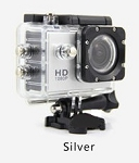 1080P ACTION SPORTS CAM SILVER