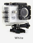 1080P ACTION SPORTS CAM WHITE