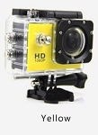 1080P ACTION SPORTS CAM YELLOW