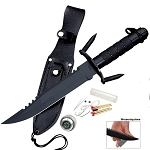 13.4'' SURVIVAL KNIFE WITH SHEATH