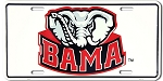 LICENSE PLATE-BAMA