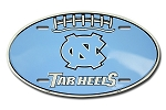 UNC FOOTBALL SHAPE