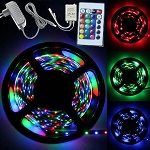 LED STRIP LIGHT RED/BLUE/GREEN