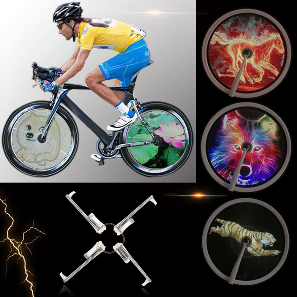 PROGRAMMABLE BICYCLE LED LIGHT