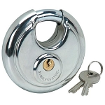 80MM ROUND LOCK WITH 2 KEYS