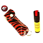 PEPPER SPRAY RED ZEBRA