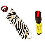 PEPPER SPRAY SILVER ZEBRA