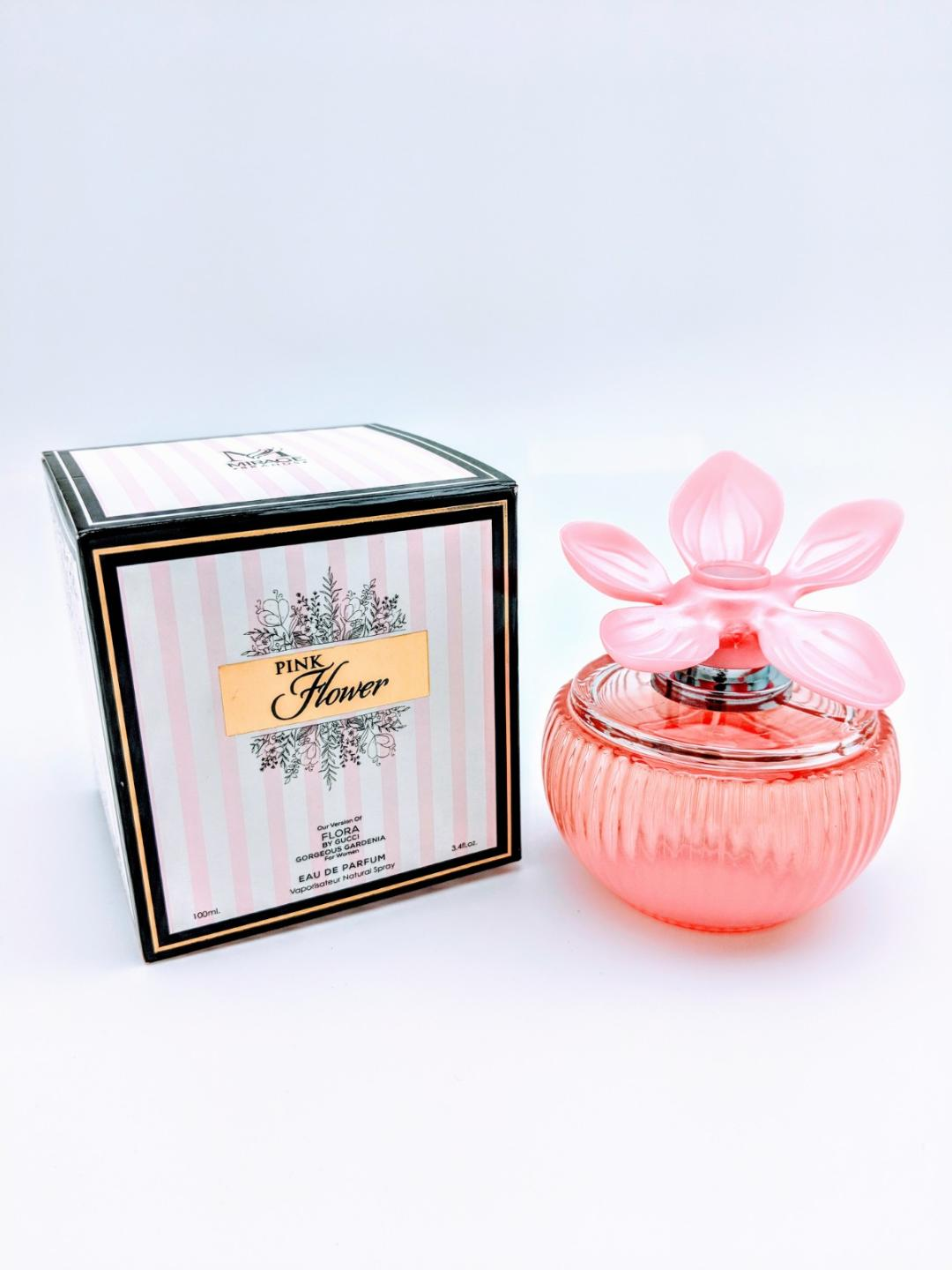 Our Version Of Flora Gorgeous Gardenia By Gucci Pink Flower