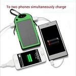 SOLAR POWER BANK GREEN