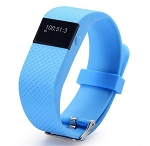 FIT BAND WITH PULSE MONITOR-BLUE