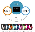 CLOSEOUT! FIT BAND WITH PULSE MONITOR