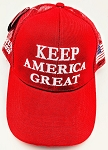 TRUMP 2020 HAT KEEP AMERICA GREAT RED ONE DOZEN