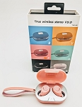 SEAY BRAND TWS TRULY WIRELESS M8 EARBUDS PINK
