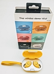 SEAY BRAND TWS TRULY WIRELESS M8 EARBUDS YELLOW