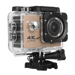 SEAY BRAND 4K ACTION SPORTS CAM WITH WIFI GOLD