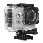 SEAY BRAND 4K ACTION SPORTS CAM WITH WIFI SILVER