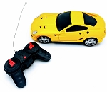 REMOTE CONTROL CAR YELLOW