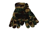 CAMO FLEECE GLOVES