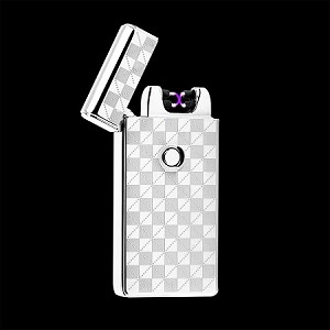 ELECTRONIC LIGHTER SILVER CHECKER
