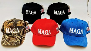 TRUMP HAT M A G A (ONE DOZEN)
