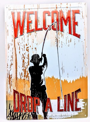 WELCOME DROP A LINE