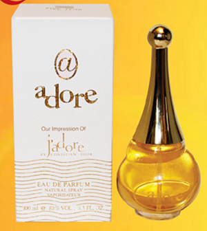our version of J'ADORE by CHRISTIAN DIOR (ADORE)