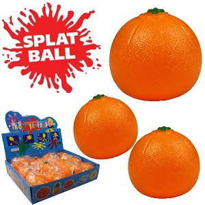 SPLAT BALL-ORANGE