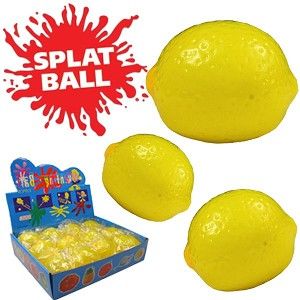 SPLAT BALL-LEMON
