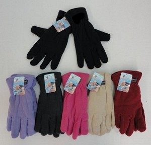 COLOR FLEECE GLOVES